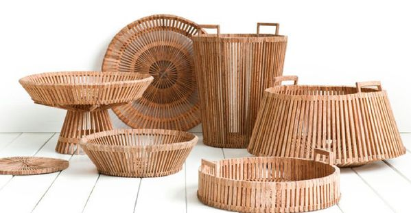 SAFARI PANIERS BASKET FAIR TRADE ORIGINAL