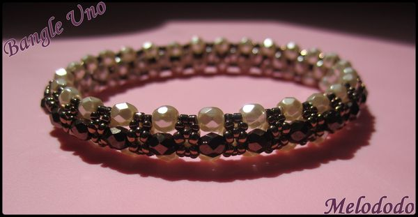 Bangle Uno Cream Pearl