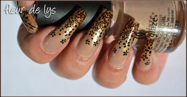Nail Art Automne Stamping