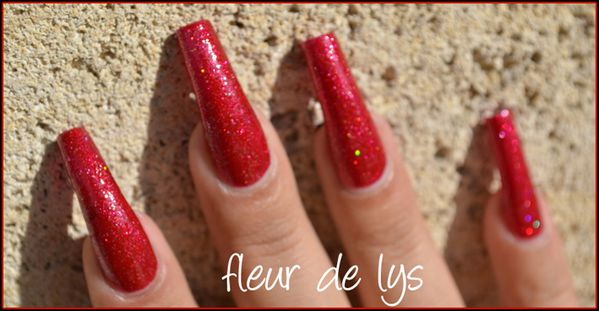 Vernis ongles rouge LM Cosmetic