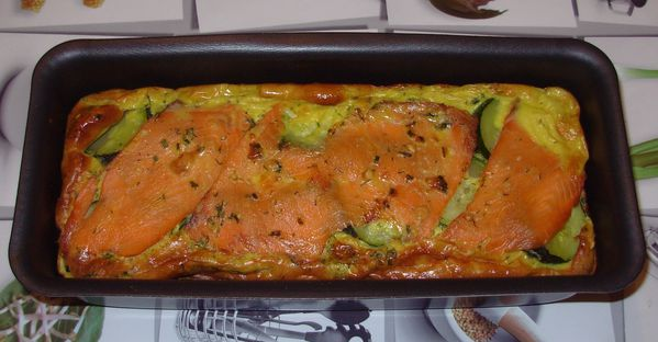 Terrine de courgettes au saumon3