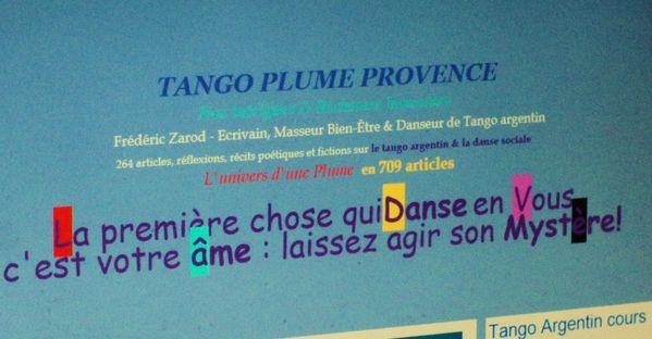 blog tango plume avignon