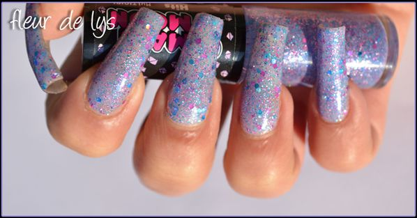Vernis ongles paillettes Hits