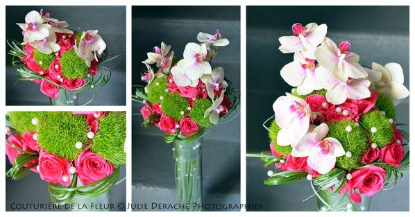 Mariage Baroque Rose et Vert anis1
