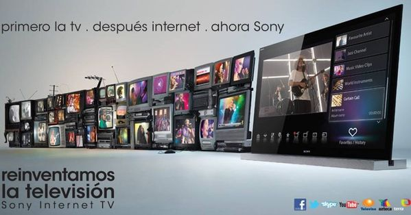 Sony TV Internet