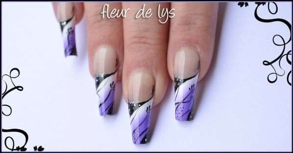 Nail Art French Design
