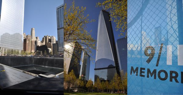New York - Manhattan - Memorial 911 - 11 septembre