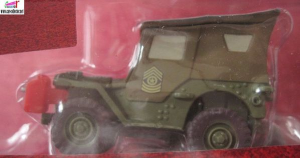 sergent jeep willys the cars disney pixar