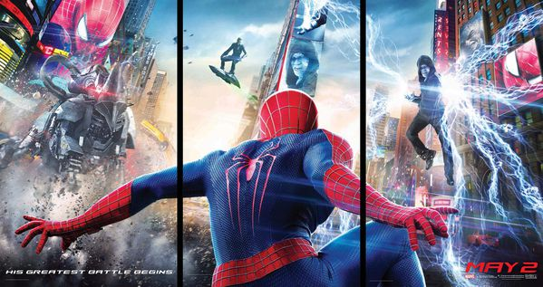 The Amazing Spider-Man 2 Rise of Electro Bannière
