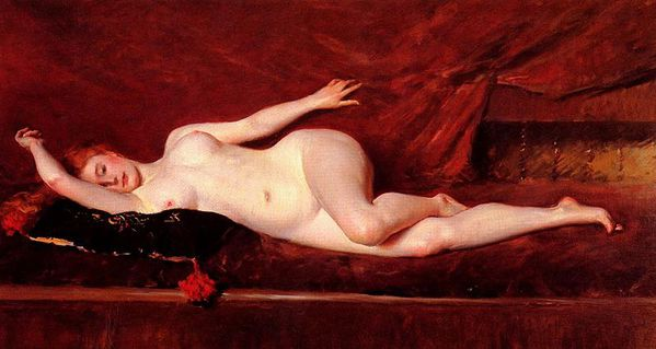 800px-Chase William Merritt A Study In Curves 1890
