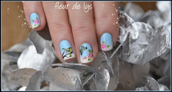 Nail Art ongles courts 4