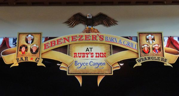 Bryce Canyon Ebenezer's Barn and Grill