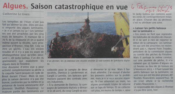 055r Télégram 10-05-14 p7 Bretagne Algue-Saison catastrop