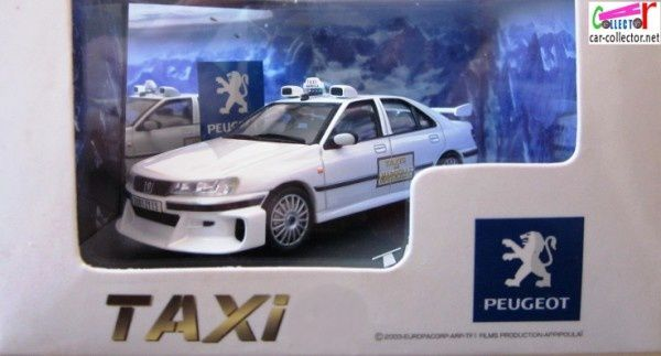 peugeot 406 taxi 1 film sami naceri 1 43 skynet europacorp tf1 car. Black Bedroom Furniture Sets. Home Design Ideas
