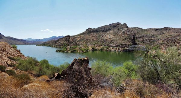 Apache Trail Canyon Lake pano 2 b
