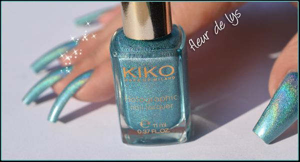 Vernis  ongles holographique