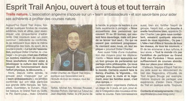 Article ETA Ouest France mars 2013