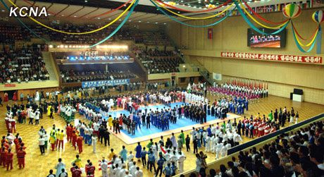 17th itf taekwondo championship opens