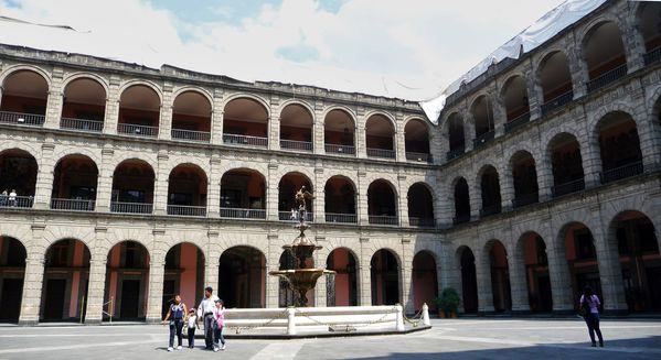 Mexico Palacio Nacional Cour (2)