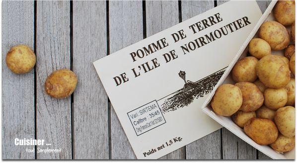 Concours de recettes primeur de noirmoutier saveurs - Cuisiner les pommes de terre de noirmoutier ...