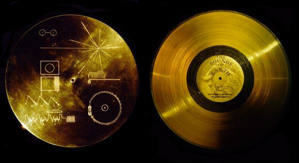 Voyager - Golden record - recto-verso