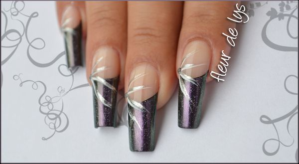 Nail Art french sur Knackered