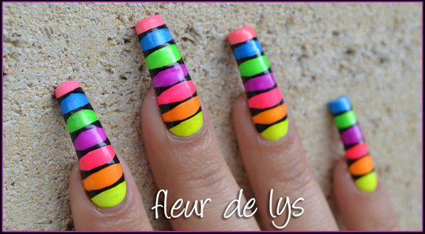Nail Art flashy