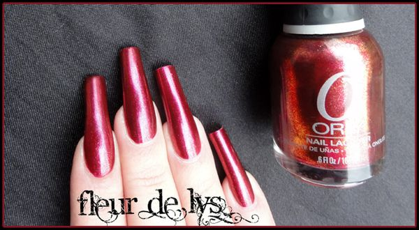 Manucure Orly