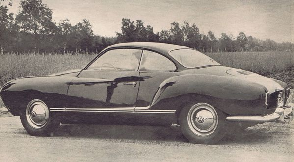 Karmann Ghia - l'Automobile n°113 - sept 1955 1
