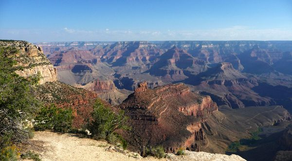 Grand canyon lever soleil panorama
