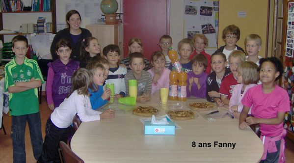 8 ans Fanny