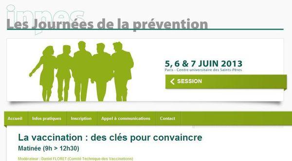INPES, Journées de la Prévention-Désinformation