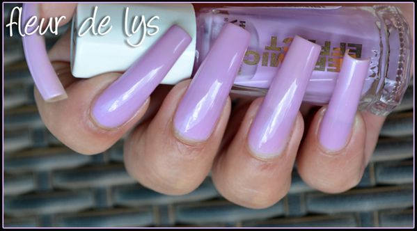 vernis ongles mauve