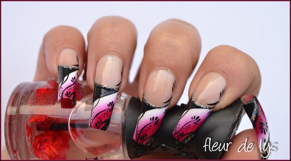 Nail Art ongles longs