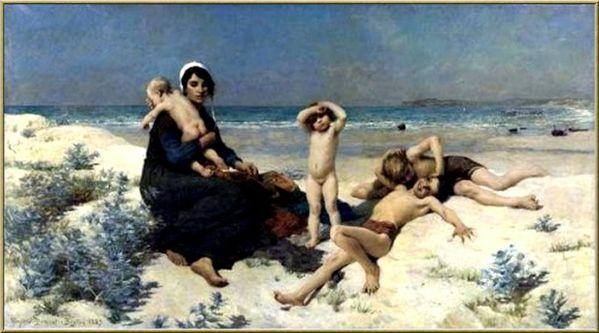3-Virginie-Demont-Breton--1859---1935la-plage.jpg