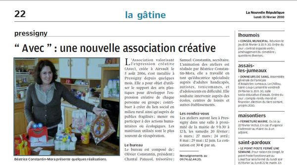 Article NR 15.02.2010
