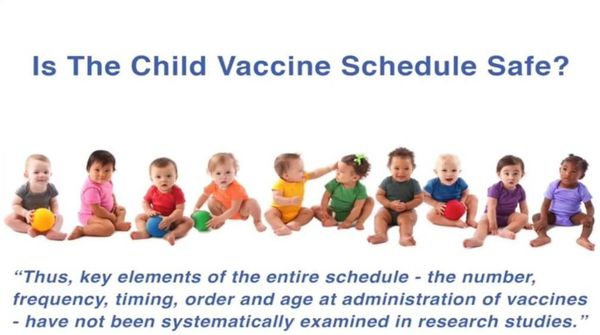 The Child vaccine schedule