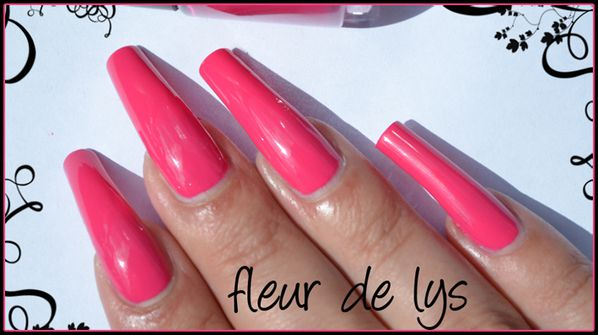 Vernis ongles printemps