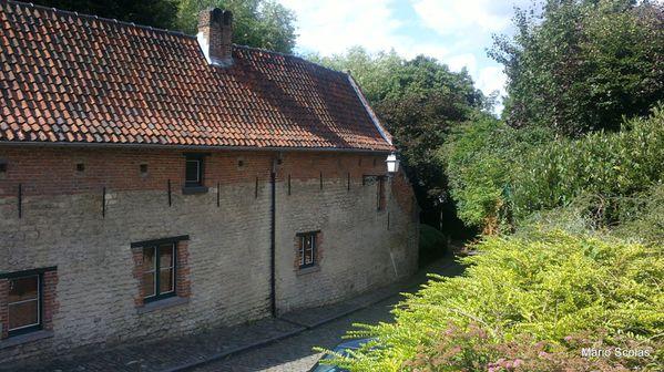 La fermette 't Hoeveke bâtie en 1638 à Evere