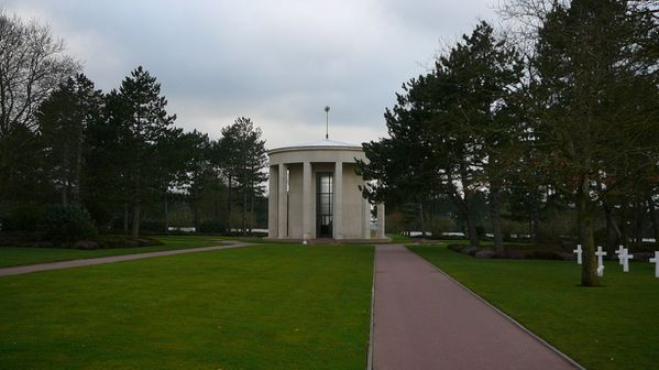 288b American Cemetery at Omaha Beach, Colleville-sur-Mer