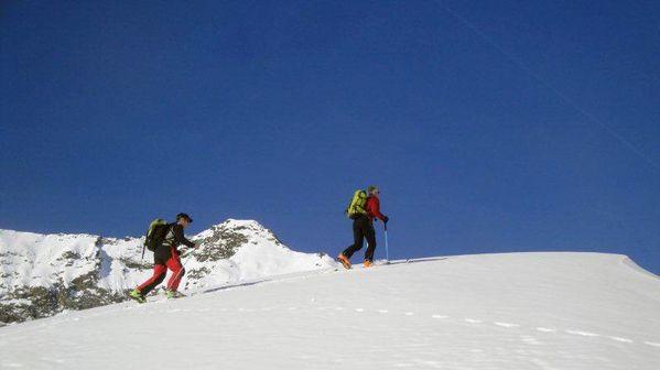 ski de randonnée col terasse 07