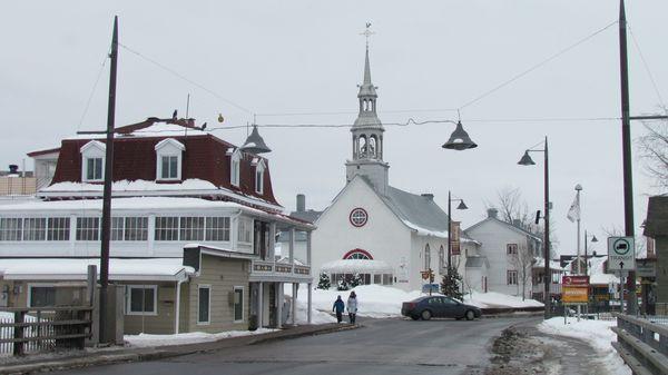 Québec l'église Indian's Zone