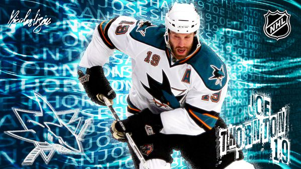 Affiche-Joe-Thornton-San-Jose-2011