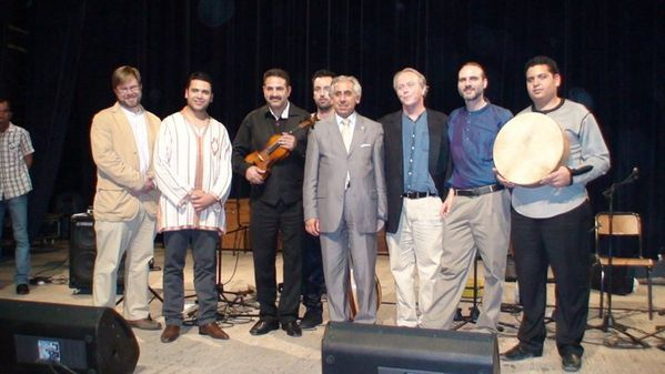 Blend of Morrocan American Music Marouan Hajji, Blue Grass, Méry