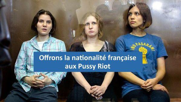 Offrons la nationalité française aux Pussy Riot !