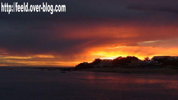 Sunset Saint-Pierre 26 juin 2011