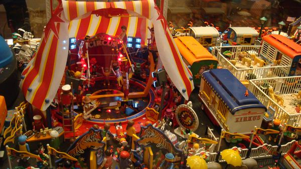 PLAYMOBIL CIRQUE DETAIL