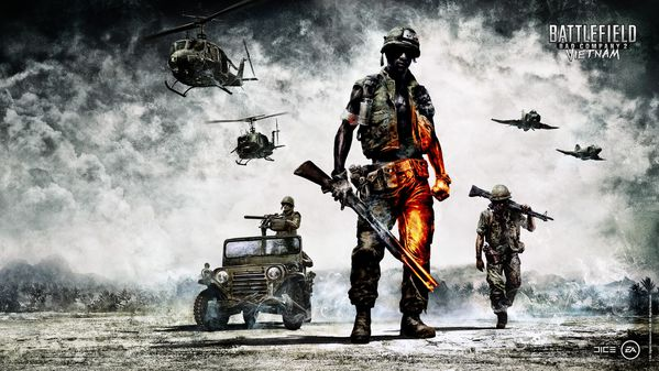 283 Battlefield Bad Company 2 Vietnam Wallpaper