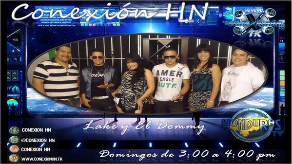 Lake y el Domy en Ana Henriquez y Erick Estrada Conexion