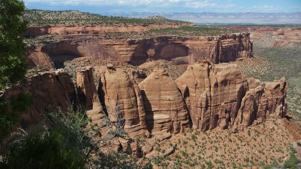 Jour 3 Colorado National Monument Ute Canyon